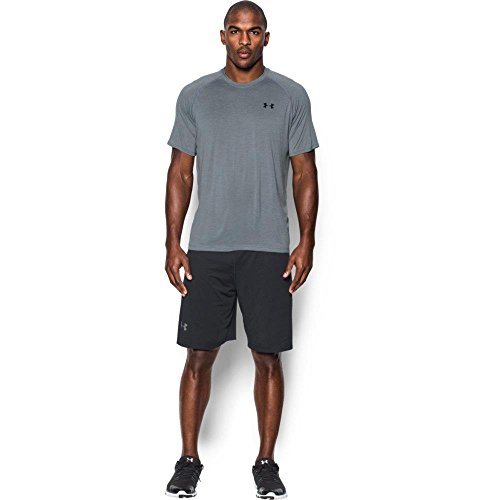 Under Armour Ua Tech Ss Tee Herren Fitness - T-Shirts & Tanks, Grau Steel, XS