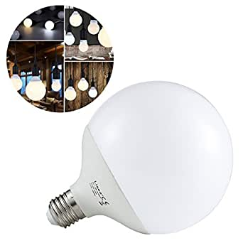 liqoo 15w e27 ampoule led globe lampe bulb spotlight 1300lm equivalente incansdance 90w 2800k. Black Bedroom Furniture Sets. Home Design Ideas