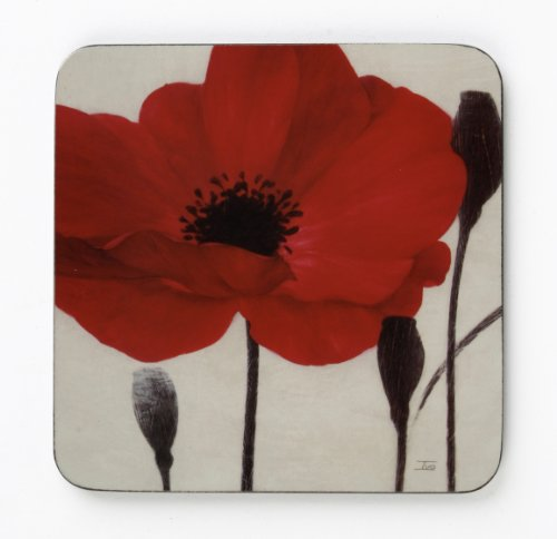 inspire-bch286025-set-of-4-red-poppy-hardboard-coasters