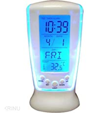 Zollyss Square Clock 510 Digital Alarm Temperature Calender Table Clock