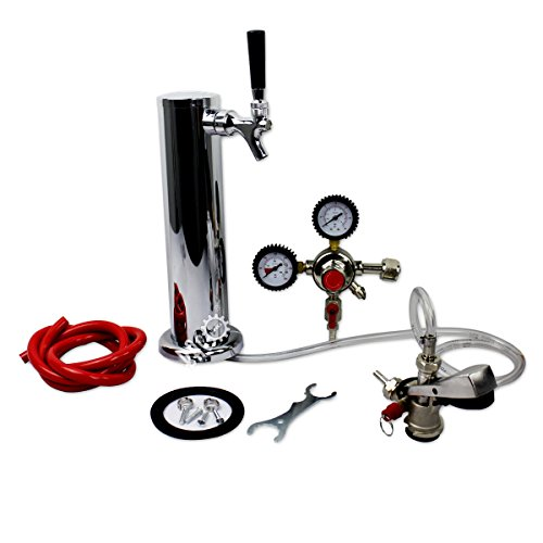 bacoeng Standard Tower kegerator ohne Tank Bier Conversion Kit - Tower Conversion Kit