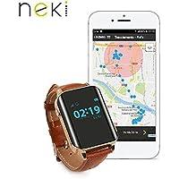Nock Senior - Reloj localizador GPS para Alzheimer o personas mayores