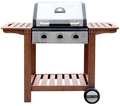 Missal Group Limited gm-8803 - 1-W - Grill Gas 3Q 131 x 59 x 113 cm 10.8 kW C/T AC Duo Grill ich -