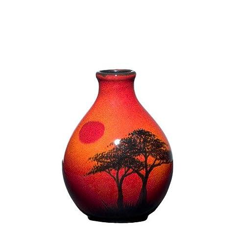 Poole Pottery Cire d'Afrique Bud Vase 12.5cm