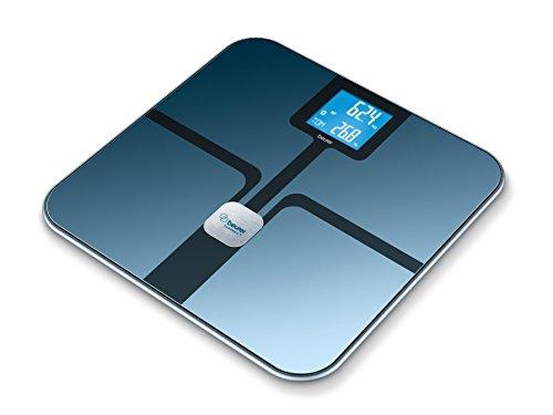 Disponible a partir de octubreInnovadora conexión entre el smartphone y la báscula: valores medidos y datos corporales siempre controlados en casa o en cualquier otro lugarConexión mediante tecnología Bluetooth SMARTIncluye aplicación para descargarB...