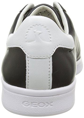 Geox - U Warrens C, Sneaker Uomo Nero (Noir (C0127))