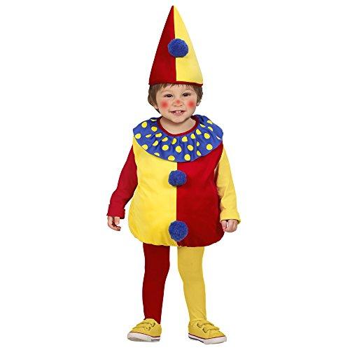 Widmann 1900C Kinderkostüm Clown, (Zirkus Kleinkinder Outfits Für)