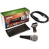 Shure PGA48 - Xlr micrófono cardioide dinámico para voces
