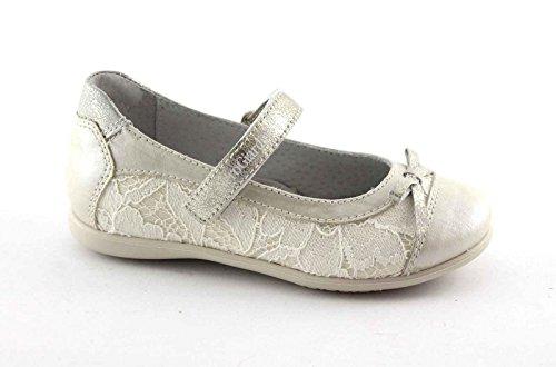 BLACK JARDINS JUNIOR 28410 ivoire chaussures bracelet en dentelle de ballerine bébé