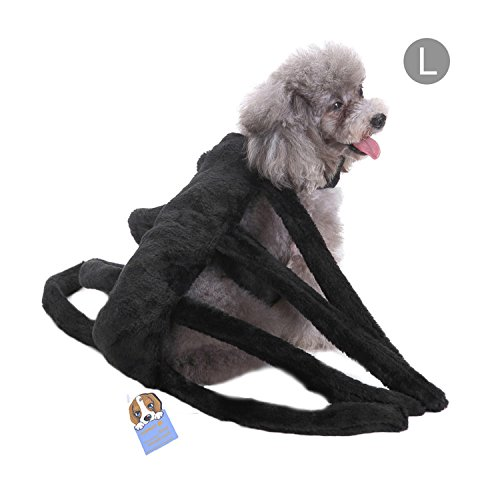 ostüm Hund Spinne Harness Clothes Requisiten (Einfach Teufel Kostüm)