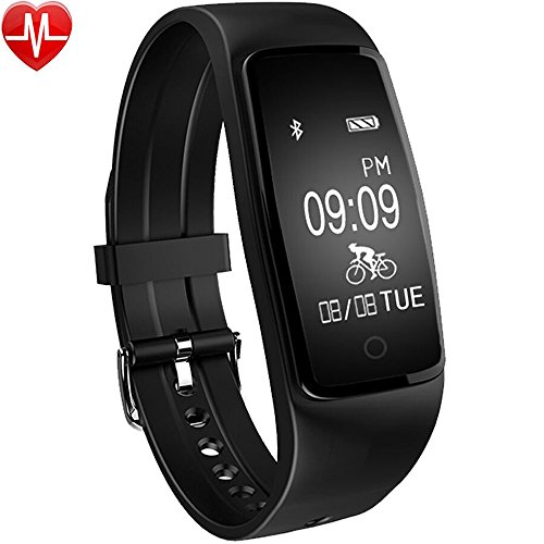 Activity Tracker, Willful Fitness Tracker Watch Orologio Cardiofrequenzimetro Impermeabile IP67 Smartband Cardio Bracciale Braccialetto Fitness Smart Watch Band Pedometro da Polso Bluetooth Smartwatch per Donna Uomo Nuoto Sport per iPhone Samsung Sony Android iOS Smartphones (Contapassi, Calorie, Distanza, Sonno, 4 Modalità Sport, Modalità Ciclismo, Notifica Messaggio Chiamata e SMS, Controllo Remoto Fotocamera e Musica, Promemoria Sedentaria, Allarme, Anti-Smarrimento, Trova il Telefono)