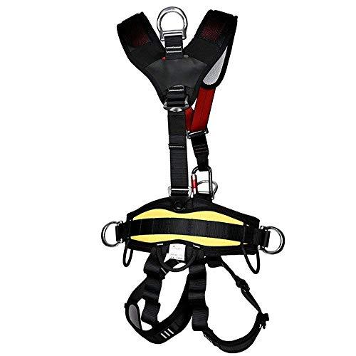 RMXMY Absturzsicherung Elektriker Gurt Gurt Taille Gurt dicken verschleißfesten Zaun mit Kletterstange mit Luftarbeit Körper kopfüber Sicherheitsgurt Komfort volle Sicherheit Kletterausrüstung -