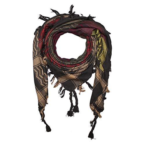 Superfreak Palituch - Blumenmuster bunt-mehrfarbig 01-100x100 cm - Pali Palästinenser Arafat Tuch - 100{77a41921e1a742da7aa88de33fc5fe6e02f90097deecf993c956ec8c5e61c5f9} Baumwolle