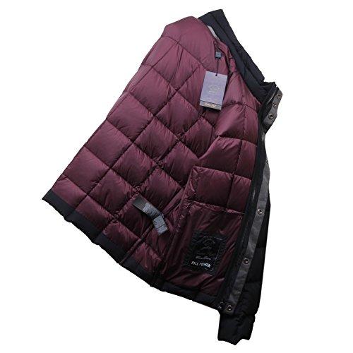 D6380 piumino uomo PAUL & SHARK giubbotto nero black jacket men Nero