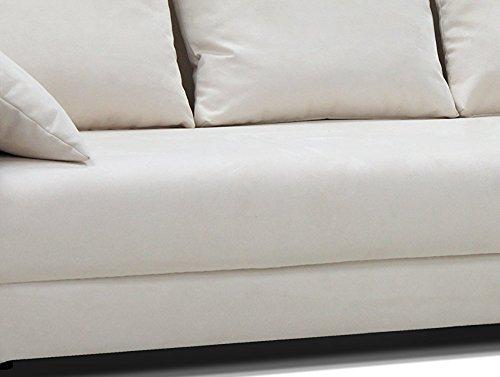 B-famous Schlafsofa Barolo N Rattan Two Tone, 235 x 103 cm, Strukturstoff beige - 5