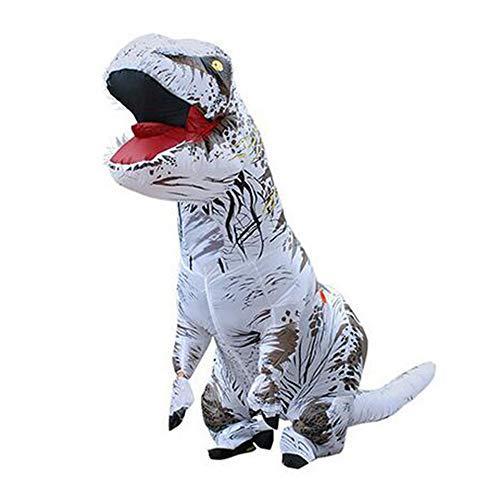 LEEFTM Halloween Dinosaurier Anzug Tyrannosaurus Rex Drache Aufblasbare Kleidung Erwachsene Kinder Cosplay Cartoon Tier Puppe - Tyrannosaurus Rex Kostüm Für Erwachsene