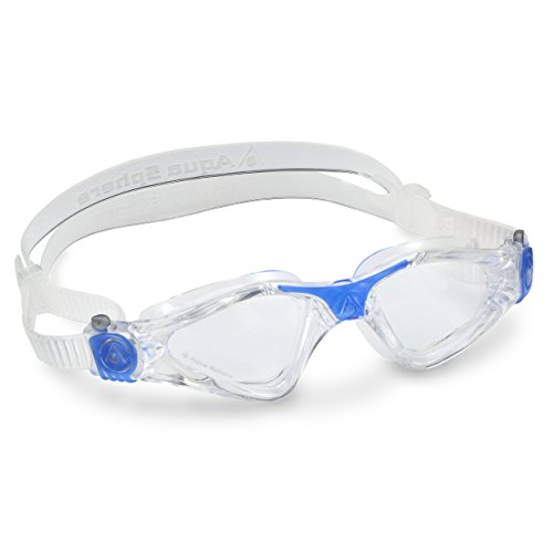 Aqua Sphere Kayenne Small Fit Swimming Goggle - Clear Lens/Clear Blue