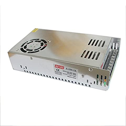 Joyland LED 110V Alimentation Transformateur de commutation 230V AC à DC 12V Sortie pour bande lumineuse LED pour caméra de