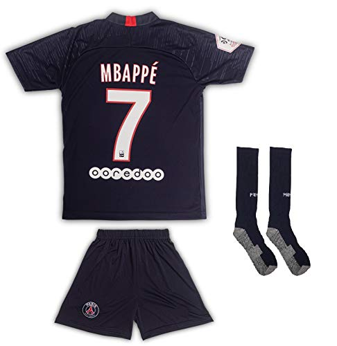 AND PSG # 7 Mbappe 2019/2020 - Camiseta Manga Larga