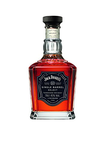 Jack Daniel's Single Barrel Select - Tennessee Whiskey - 45% Vol. (1 x 0.7 l) / Jedes Fass ein Unikat. Whisky