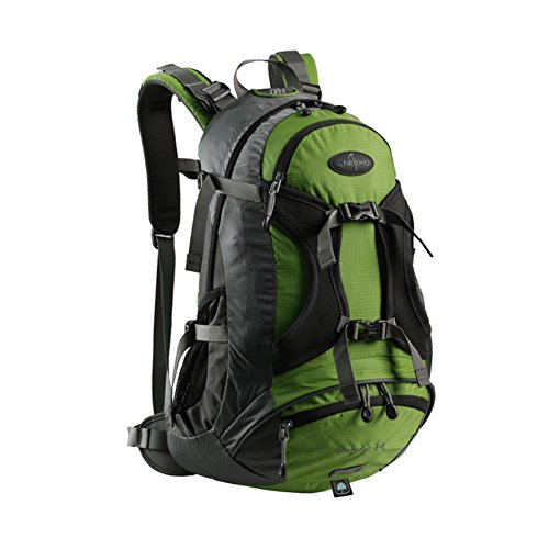 Zaino outdoor alpinismo/Borse di massa impermeabile/Zaino da viaggio/escursione-Army Green 30L Erba verde