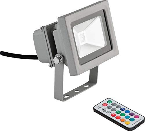EVN Lichttechnik LED-Wallpainter mit FB LFA 10 99 10W RGB Downlight/Strahler/Flutlicht 4037293373661