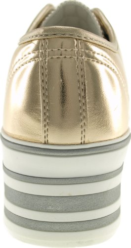 loch C50 Plattform Trendy Maxstar ouro top Low Sneakers 6 Tc HHOAEqw