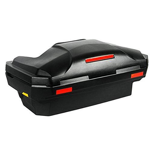 Universal Quad- ATV Koffer aus Hochwertigem LLDPE (Linear Low Density Polyethylene) Material und Sicherheitsschlössern, Inklusive Befestigungsmaterial, mit großer Ladeöffnung Model 8030