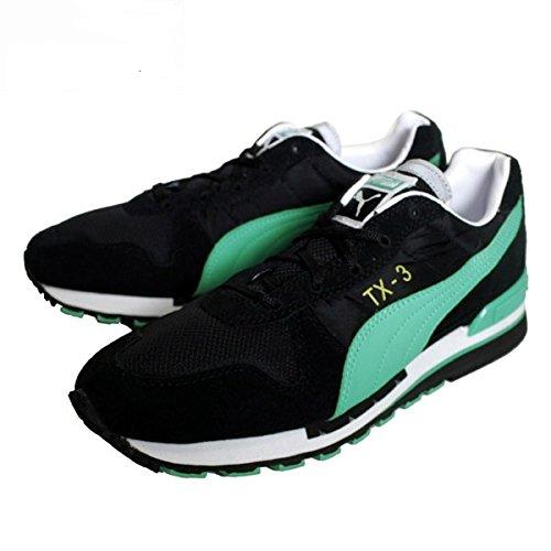 PUMA TX 3 WN S - Zapatillas de running para mujer, color negro / verde