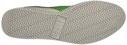 Diadora Game Waxed, Scarpe Low-Top Unisex – Adulto Multicolore (C6104 Bianco/Verde Irlandese)