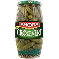 Amora Cornichons Croq'Vert Fins 550 g