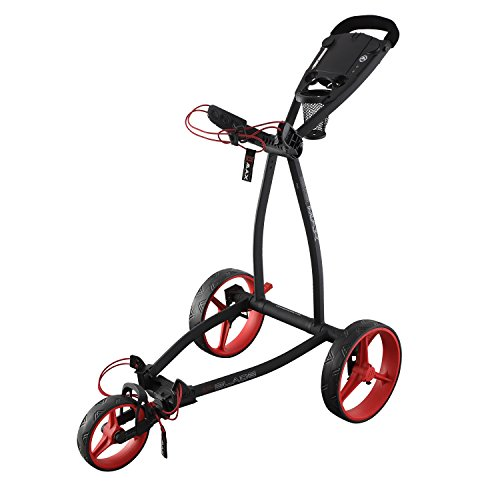 BIG MAX Blade IP 3 Rad Golftrolley - 2018 Phantom/Red