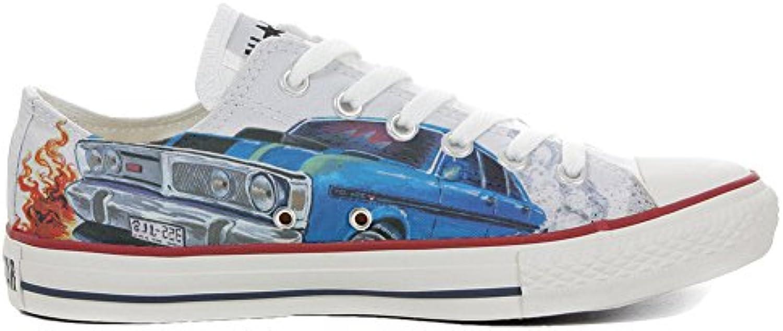 Converse All Star Personalisierte Schuhe (Custom Produkt) Slim Chevrolet