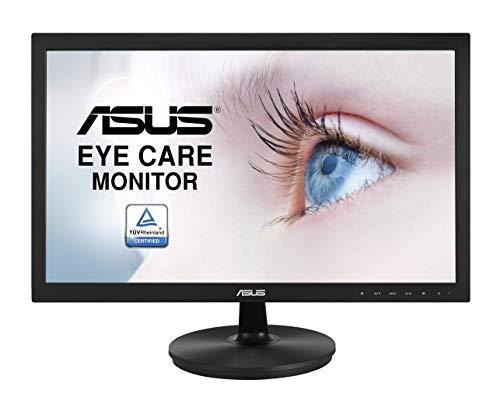 Asus VS229NA 54,7 cm (21,5 Zoll) Monitor (Full HD, VGA, DVI, 5ms Reaktionszeit) schwarz