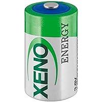 Batterie 1/2AA (ER14250) 3,6 V 1200mA lithium chlorure de thionyle Lot de 3