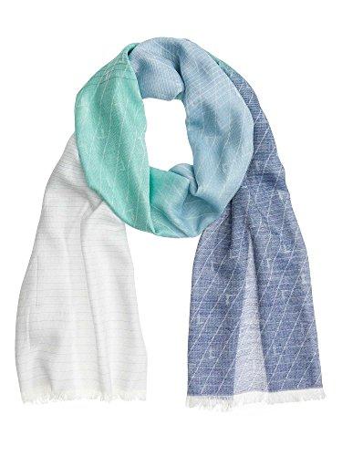 tru-trussardi-femmes-echarpe-bleu-one-size
