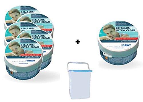 BWT Benamin Ultra Clear Aktionspaket 096900E Pflegemittel 6 Stück im Eimer