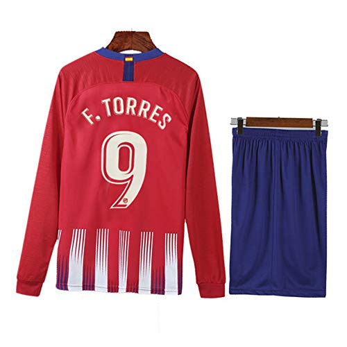 COOLBOY F.Torres#9 18-19 Atletico Madrid Home Trikot Herren, T-Shirt+Shorts,L