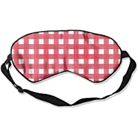 Comfortable Sleep Eyes Masks Red White Stripes Lines Printed Sleeping Mask For Travelling, Night Noon Nap, Mediation... preisvergleich bei billige-tabletten.eu