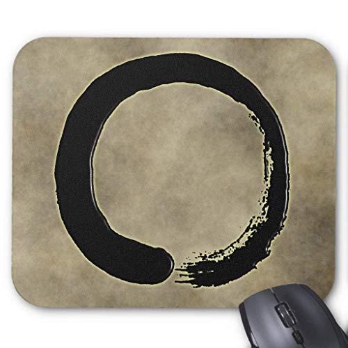 Zen Circle Mouse Pad 18cm x 22cm