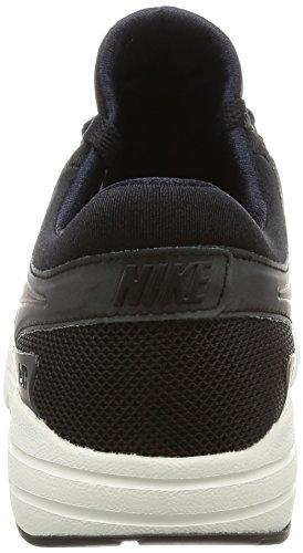 Nike Mädchen W Air Max Zero Laufschuhe Black (Black (schwarz / schwarz-Segel))