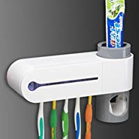 NiceButy automático dispensador de pasta de dientes cepillo de dientes esterilizador