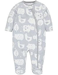 next Bebés Niños Niñas Unisex Pijama Pelele Felpa Estampado Animal (0-18 Meses)
