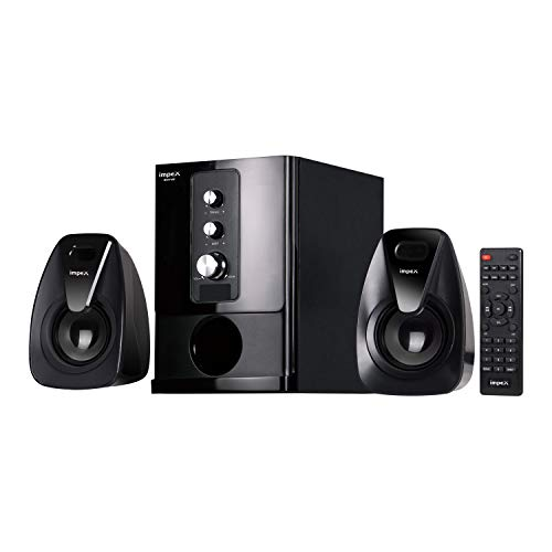 Impex 2.1 Rhyme 20 W Portable Multimedia Speaker System (Black)