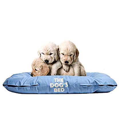 The Dog's Bed, Premium Water Resistant Dog Beds, 5 sizes, 7 Colours, Quality Durable Oxford Fabric & Designed for… 1