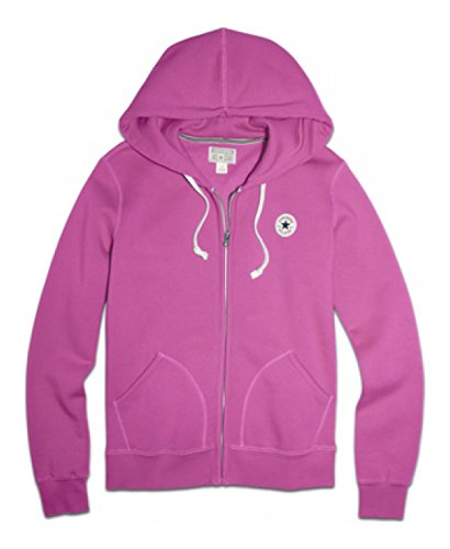 Converse Damen Awk Core Full Zip Hoodie Powder Purple