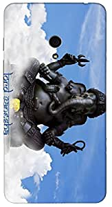 Timpax Slip-resistant, stain-resistant and tear-resistant Hard Back Case Cover Printed Design : Lord Vinayaka .For Asus Zenfone 5 ( A500CG )