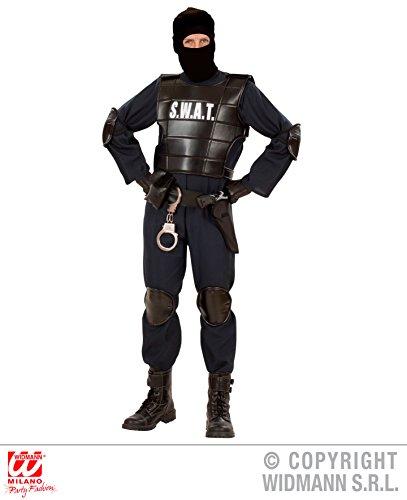 KOSTÜM - S.W.A.T. - Größe XL, Uniformen CIA FBI Spezialeinheiten Spezial (Halloween Männer Kostüm Fbi)