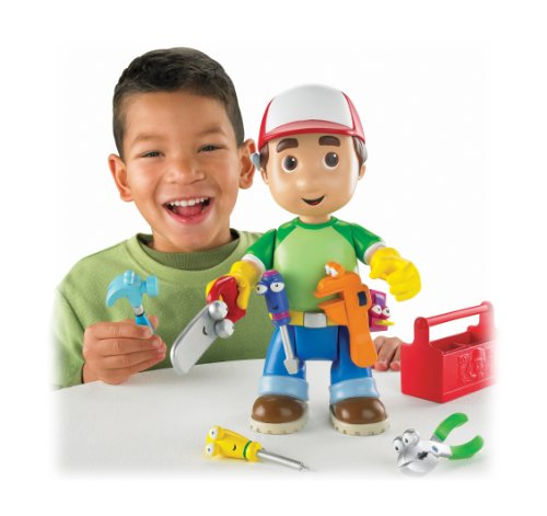 Fisher-Price Handy Manny Lets Get to Work Manny Figure