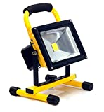 Best Work Lights - 20w LED Light Work Portable Rechargeable Hi Power Review